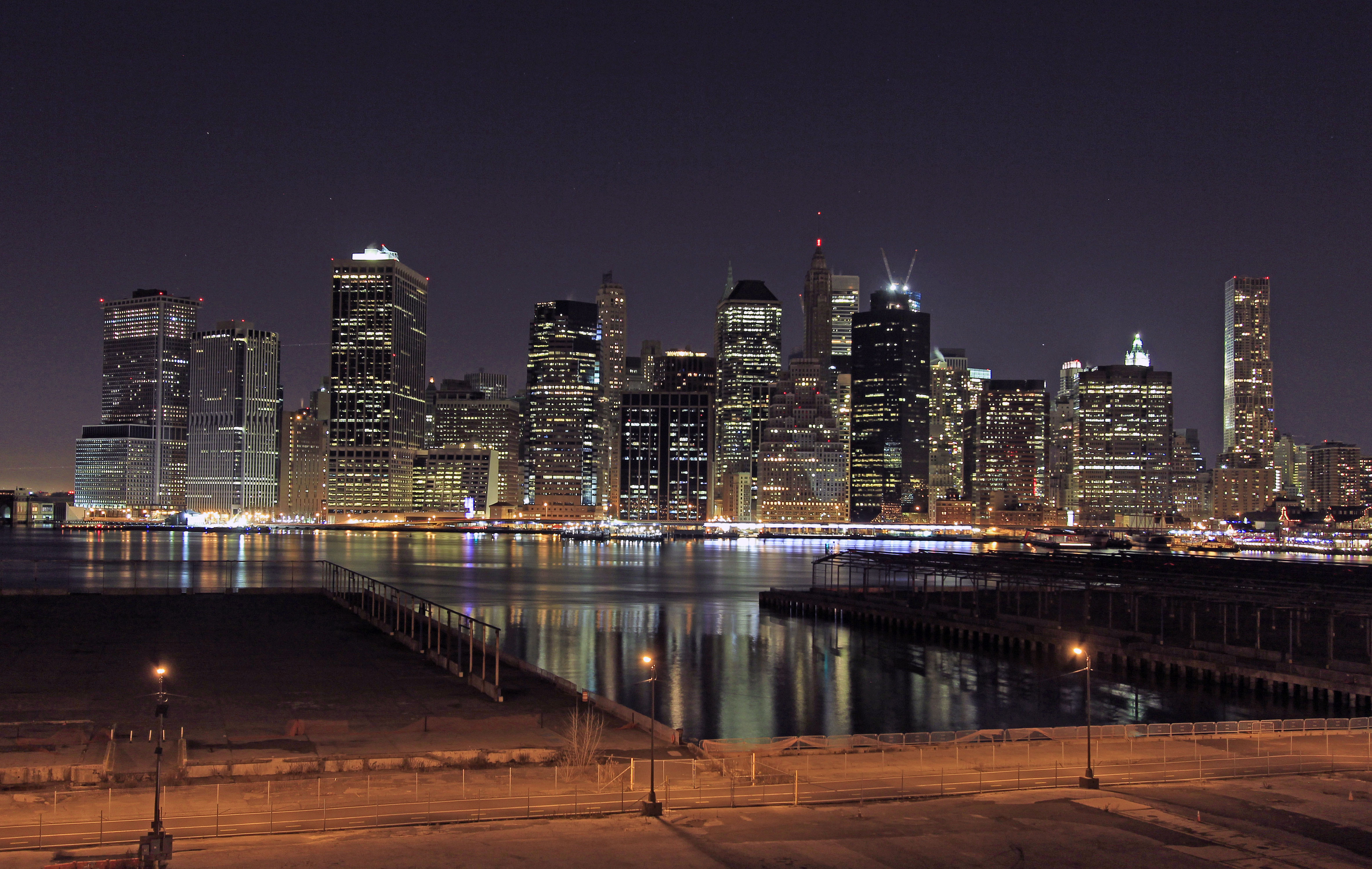 Downtown Skyline from the Brooklyn Heights Esplanade