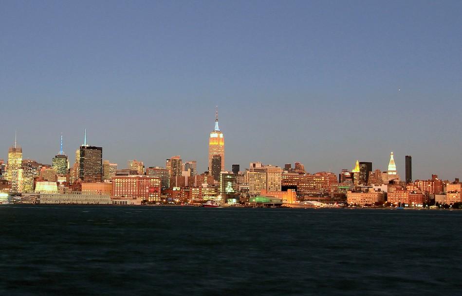 Midtown Skyline from Hoboken