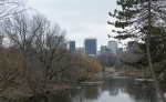 59th Street skyline and Bethesda Fountain