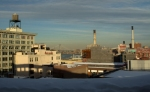 Rooftops on the Brooklyn Waterfront