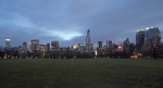 Skyline across the Sheep Meadow