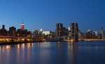Skyline from the East River Walk