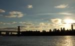 Williamsburg Bridge at Sunset