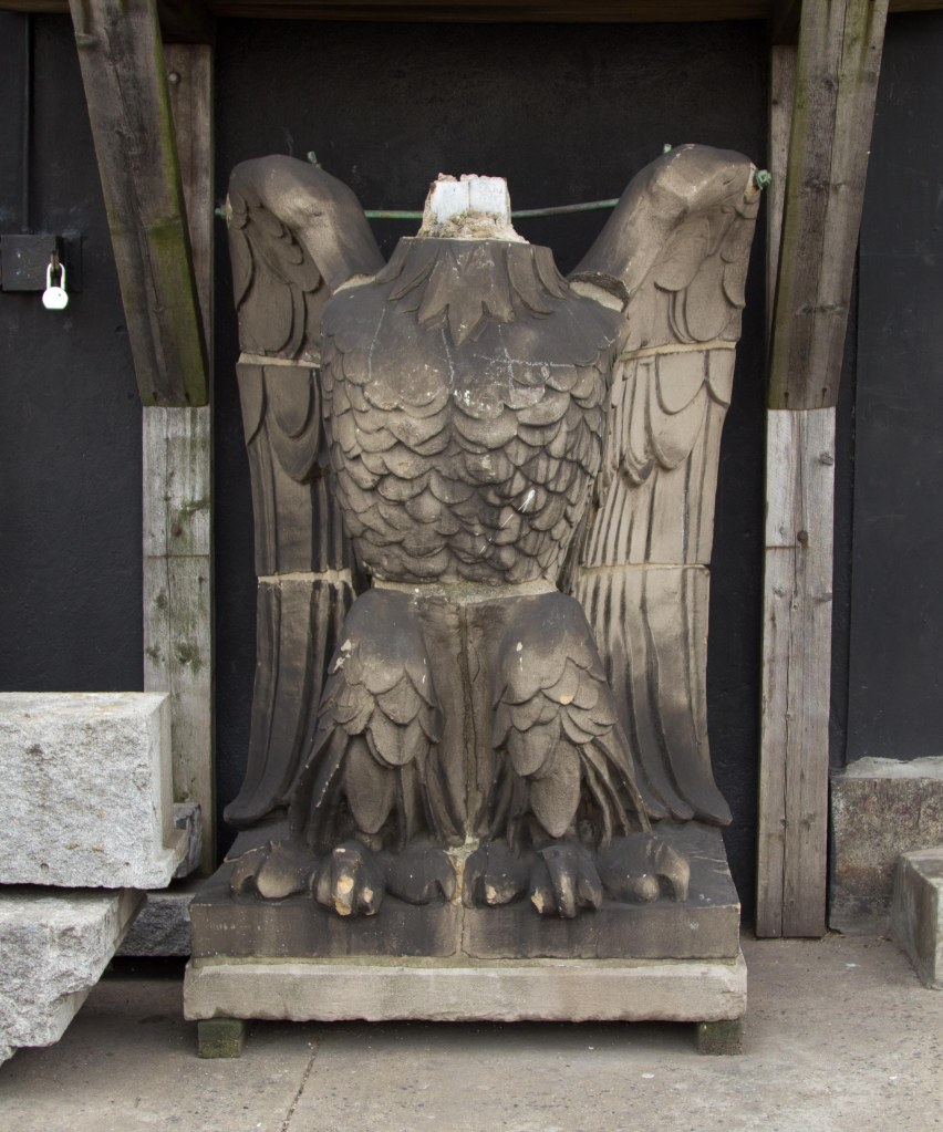 Is this one of the eagles that graced Old Penn Station?