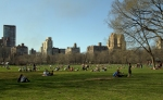 People on the Sheep Meadow